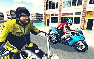 Moto Racer 3D скриншот 1