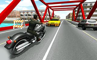 Moto Racer 3D скриншот 3
