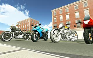 Moto Racer 3D скриншот 4
