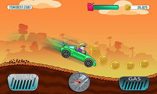Cars: Hill Climb Race скриншот 1