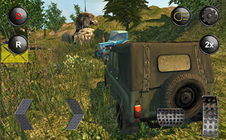 4x4 Russian SUVs Off-Road скриншот 1