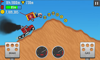 Hill Racing PvP скриншот 1