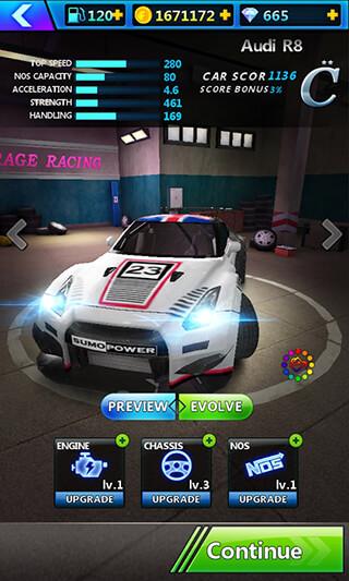 Rage Racing 3D скриншот 2