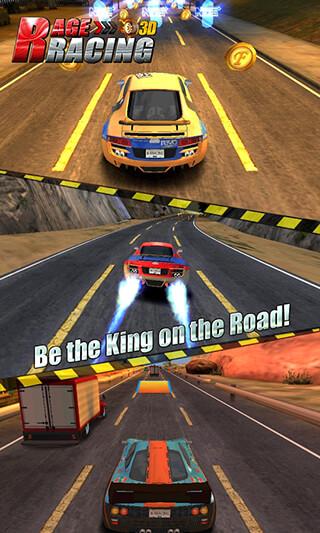 Rage Racing 3D скриншот 3