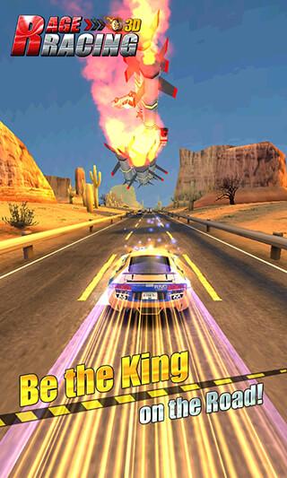 Rage Racing 3D скриншот 4