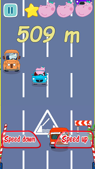 Baby Car Racing скриншот 2