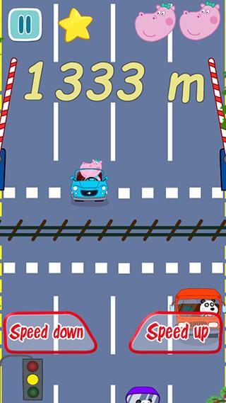 Baby Car Racing скриншот 3
