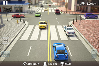 Traffic: Need For Risk and Crash. Illegal Road Racing скриншот 2
