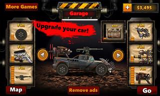 Monster Car: Hill Racer 2 скриншот 2