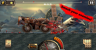 Monster Car: Hill Racer 2 скриншот 4