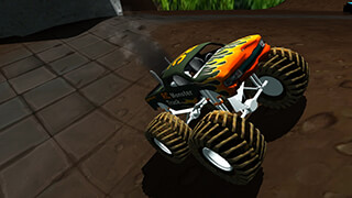 RC Monster Truck скриншот 1