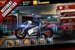 Death Moto 3 скриншот 1