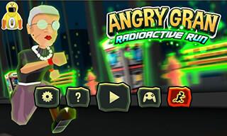 Angry Gran: RadioActive Run скриншот 1
