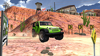 Extreme SUV Driving Simulator скриншот 3