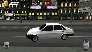 Russian Cars: 99 and 9 in City скриншот 4