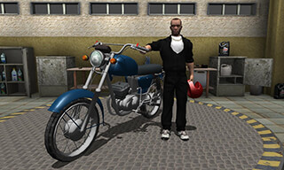 Russian Moto Traffic Rider 3D скриншот 2