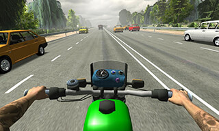 Russian Moto Traffic Rider 3D скриншот 3