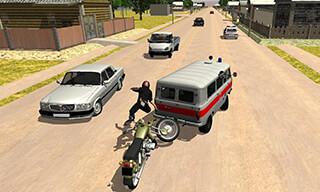 Russian Moto Traffic Rider 3D скриншот 4