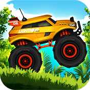 Jungle Monster Truck Kids Race иконка
