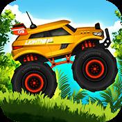Jungle Monster Truck Kids Race иконка