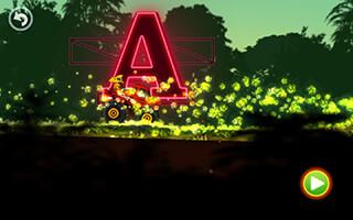 Jungle Monster Truck Kids Race скриншот 4