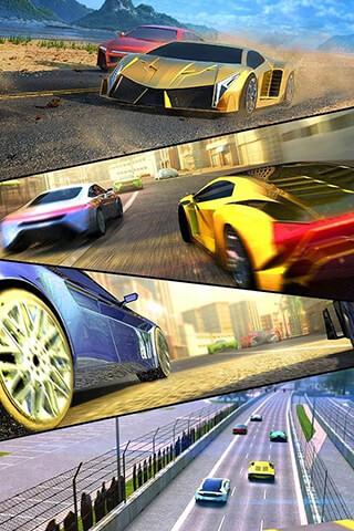 Racing 3D: Asphalt Real Tracks скриншот 1