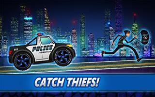 Police Car Racing for Kids скриншот 1
