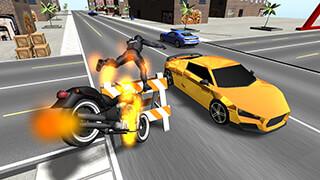 Moto Fighter 3D скриншот 3