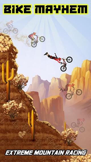 Bike Mayhem: Mountain Racing Free скриншот 1