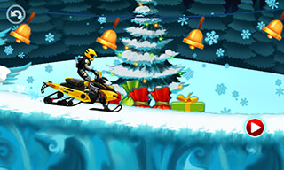 Motocross Kids: Winter Sports скриншот 2