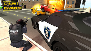 Police Car Chase 3D скриншот 2