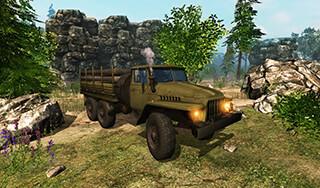 Truck Driver 3D скриншот 2