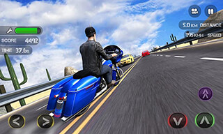 Race the Traffic Moto скриншот 3