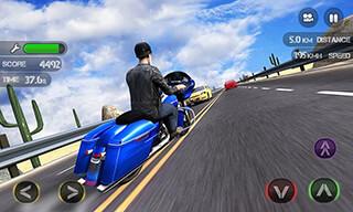 Race the Traffic Moto скриншот 3