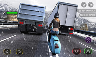 Race the Traffic Moto скриншот 4
