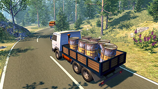 Russian Truck Driver скриншот 1
