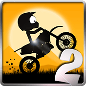 Стик байкер-трюкач 2 (Stick Stunt Biker 2)