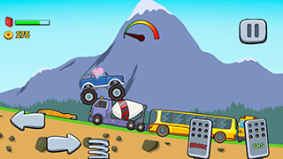 Kids Monster Truck скриншот 3