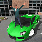 Crime Race Car Drivers 3D иконка