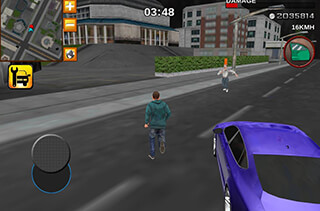 Crime Race Car Drivers 3D скриншот 1