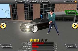 Crime Race Car Drivers 3D скриншот 2