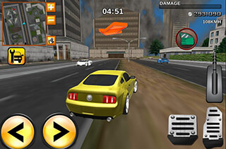 Crime Race Car Drivers 3D скриншот 3