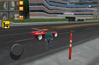 Crime Race Car Drivers 3D скриншот 4