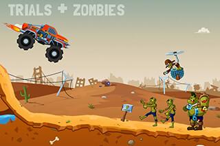 Zombie Road Trip Trials скриншот 1