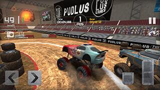 Monster Truck Race скриншот 1