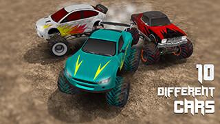 Monster Truck Race скриншот 2