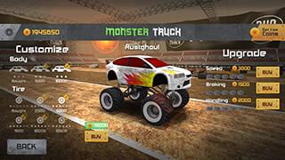 Monster Truck Race скриншот 3