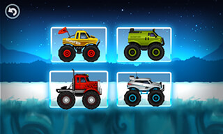 Monster Truck: Winter Racing скриншот 1