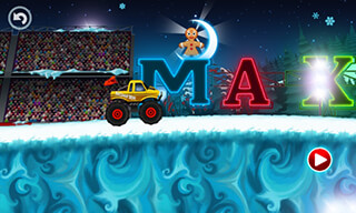Monster Truck: Winter Racing скриншот 2