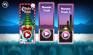 Monster Truck: Winter Racing скриншот 3
